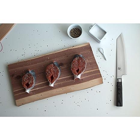 Amazon.com: Shun vg0014 Azul 8-Inch kiritsuki cuchillo ...