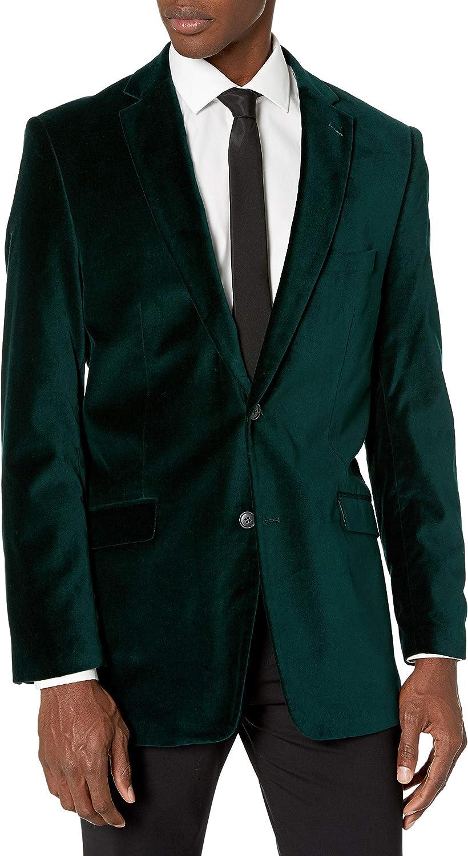 Adolfo Men's Update Modern Side Vent Sportcoat