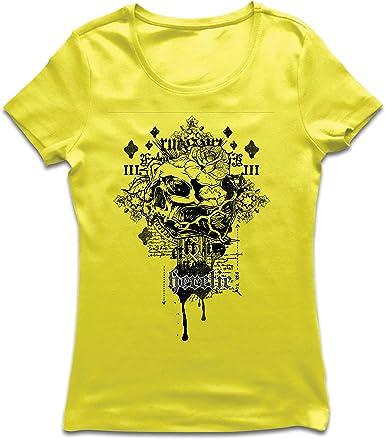 lepni.me Camiseta Mujer Heretic, diseño de Calavera - Radical ...