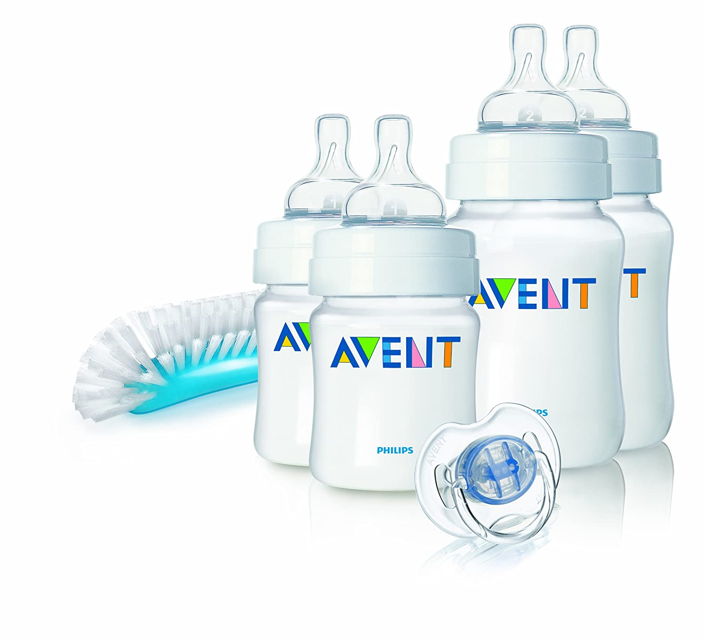 Philips Avent SCD271/00 - Juego de biberones y accesorios básicos para recién nacido