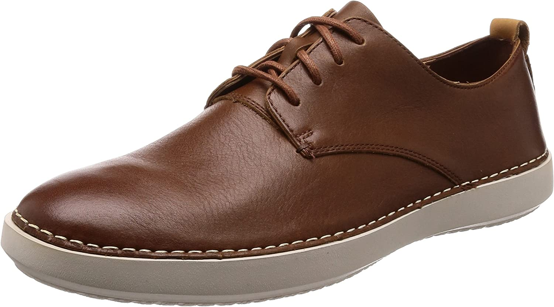 Clarks Komuter Walk, Zapatos de Cordones Derby para Hombre
