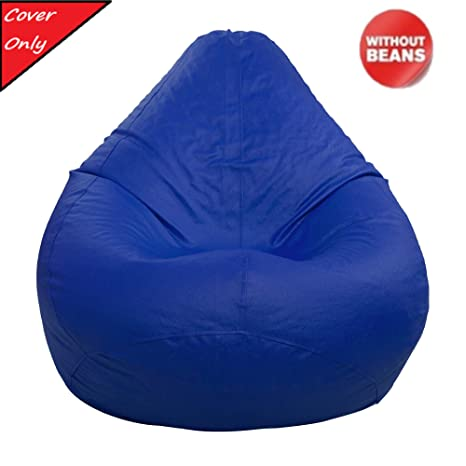 Admirable Ample Decor Bean Bag Cover Without Beans Comfortable Sitting Sofa Chair Bean Bag Cover Made From Leatherette For Kids Teens Adults Filling Not Beatyapartments Chair Design Images Beatyapartmentscom