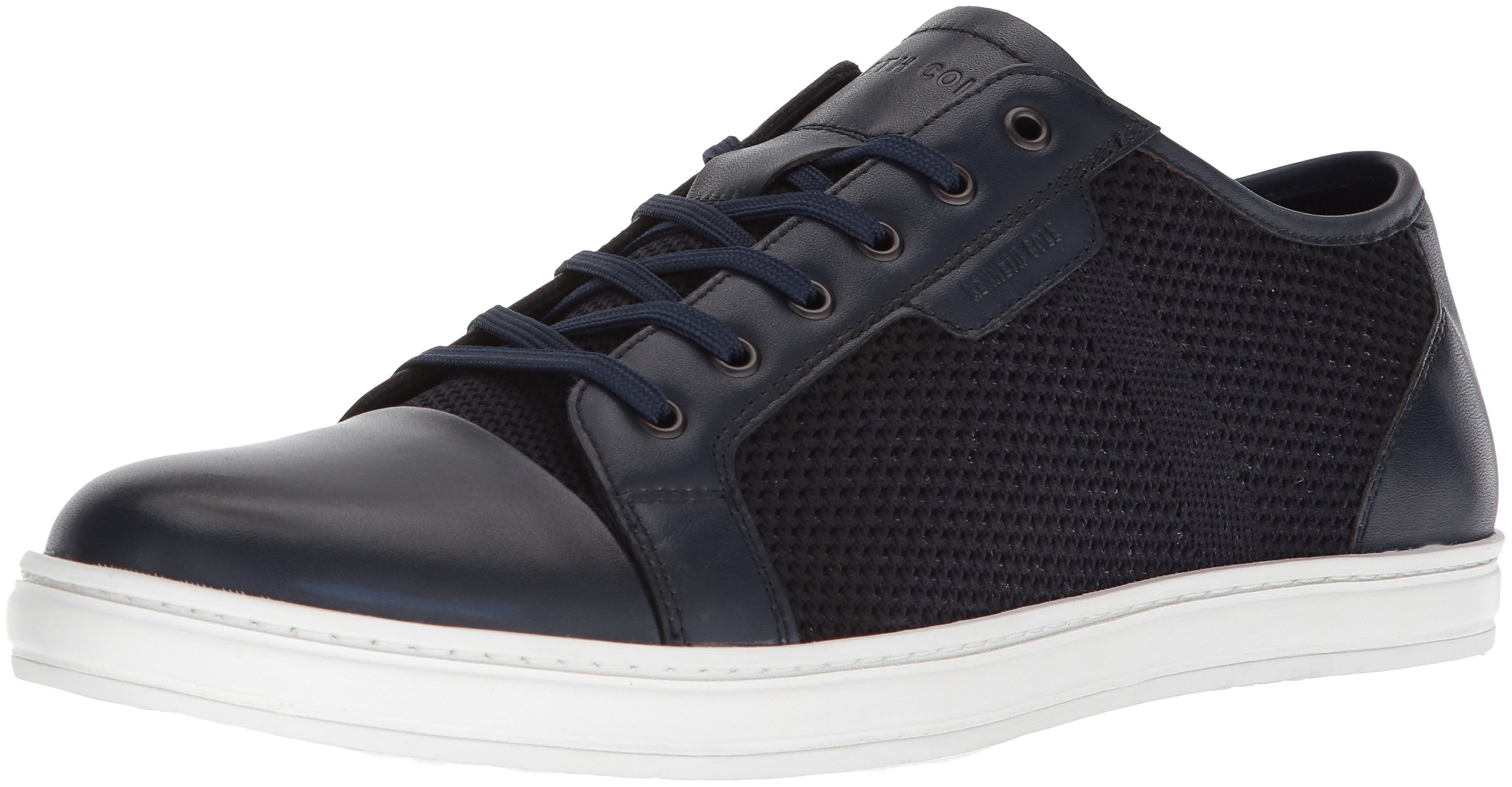 Kenneth Cole New York Men's Brand B Sneaker, Navy, 11.5 M US