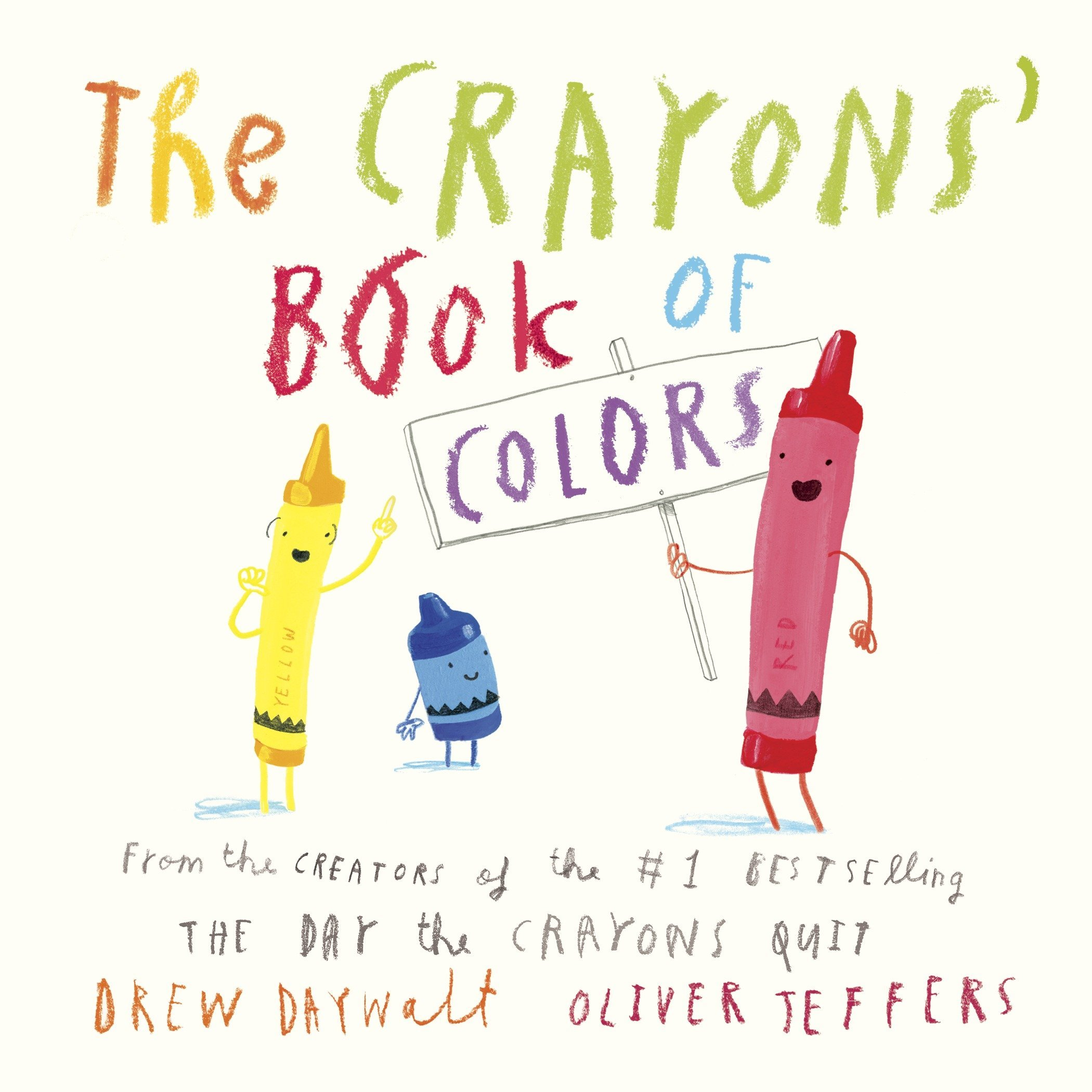 Amazon Com The Crayons Book Of Colors 9780451534040 Drew