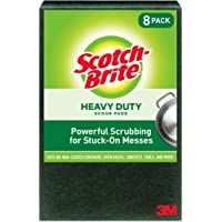 Deals on 1 Pack Scotch Brite Heavy Duty Scour Large 8 Count