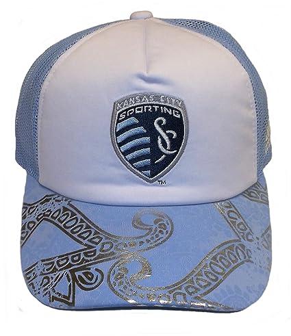 cheap for discount 48fb8 7a1e0 ... where to buy adidas sporting kansas city mls womens mesh adjustable hat  cap osfa 41f7c cb0a4