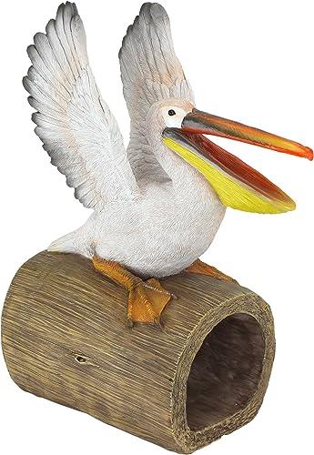 Design Toscano QM2868800 Splash The Pelican Gutter Guardian Downspout Statue