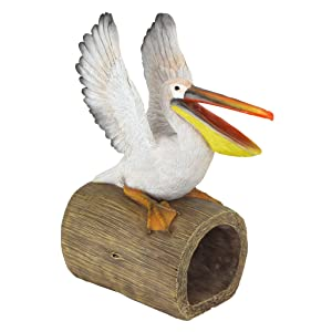 Design Toscano Splash The Pelican Gutter Guardian Downspout Statue
