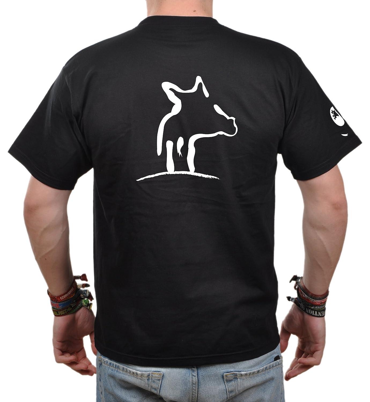 T-Shirt Herren Eidos Sau - Jäger T-Shirt Sau Wildschwein: Amazon.de:  Bekleidung