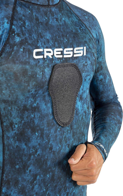 Amazon.com: Cressi Azul Hunter con capucha Rashguard ...
