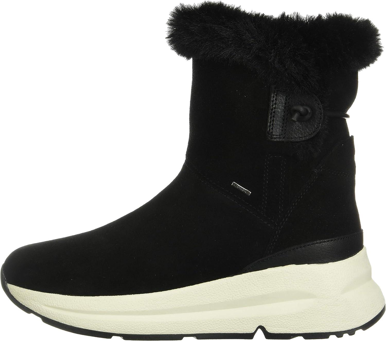 Geox Damen D Backsie B ABX C Snow Boot: : Schuhe