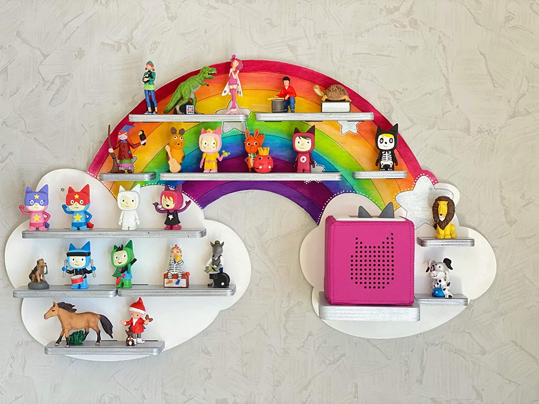 Farbklecks Collection Musikboxregal DIY Bausatz Regenbogenwolke
