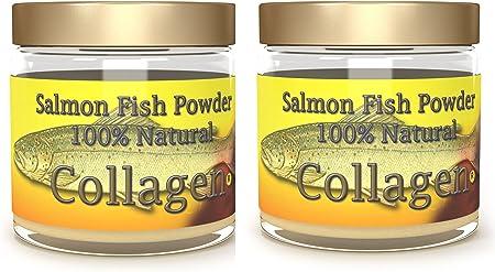 Salcoll Collagen - 100% Natural Bioactive Marine Collagen Powder - Unflavored, Kosher, can Help Bone, Joint, Skin, Hair Health, 2 Pack, Two Month Supply