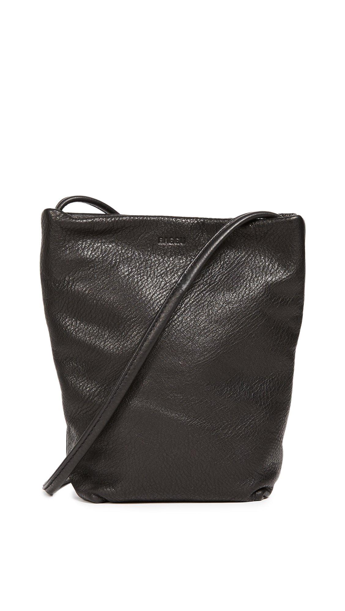 BAGGU Women's Cross Body Bag, Black, One Size by BAGGU