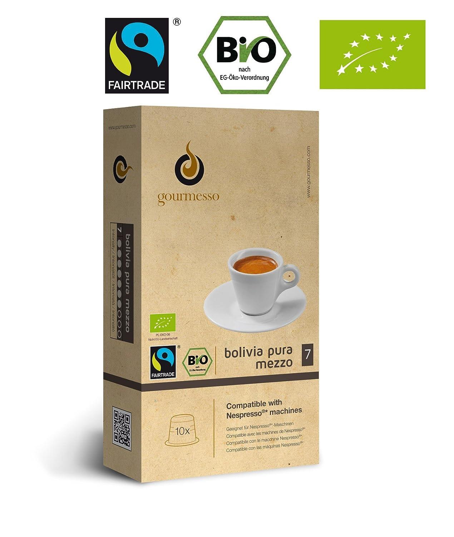 Cápsulas de Café Gourmesso Compatibles con Cafeteras Nespresso®: Amazon.es: Electrónica