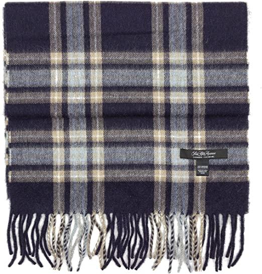 saks fifth avenue 100/% cashmere winter scarf multiple patterns