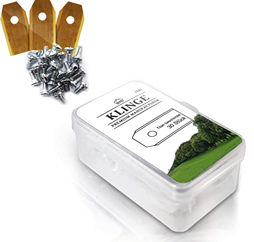 Klinge - Pack de 30 cuchillas resistentes - Para todos los ...