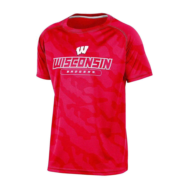 【特価】 NCAAアラバマCrimson Tide B01N4WZZA5 Boys半袖クルーネックラグラン合成Tシャツ Medium Wisconsin Badgers Medium Wisconsin B01N4WZZA5, 超人気の:e9a249c9 --- a0267596.xsph.ru
