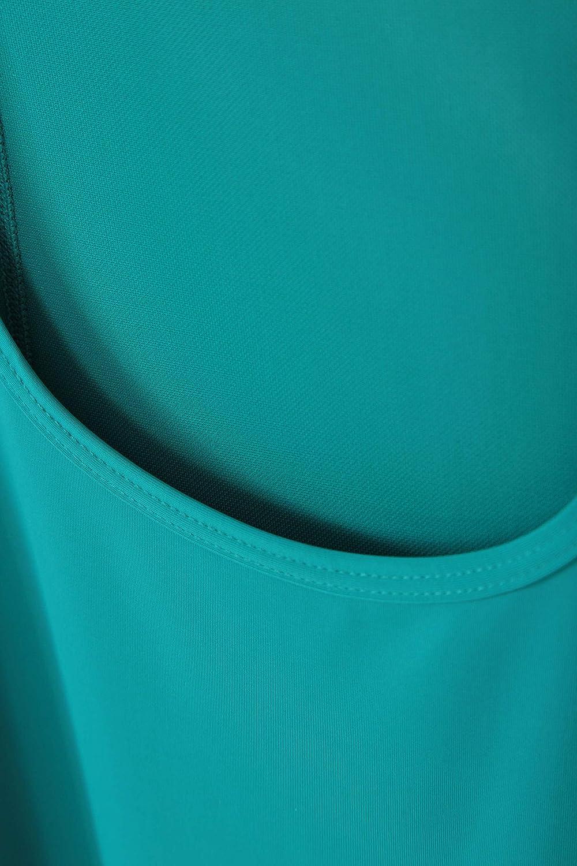 schwei/ßableitendes T-Shirt optimal f/ür Urlaub /& Reisen leichte Damen-Weste Tank-Top atmungsaktiv lockere Passform Mountain Warehouse Movement Damen-Netz-Weste