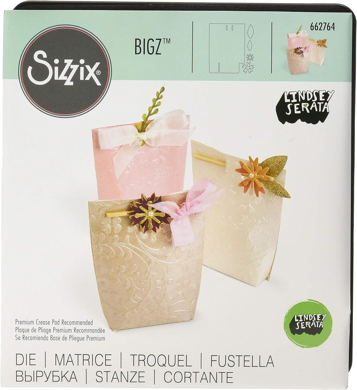 Sizzix Bigz Troquel Caja, regalo floral: Amazon.es: Hogar