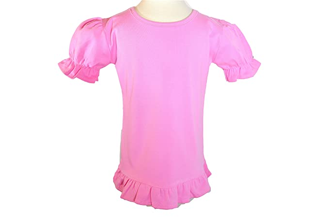 4328c0edfe2b Amazon.com  OPTCO FASHIONS Aurora Pink Color. Girl Toddlers Blouses ...