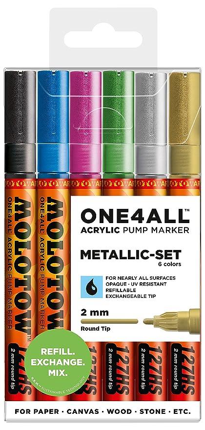 Molotow Co Tip 1.5Mm Metallic Gold Paint Mrkr