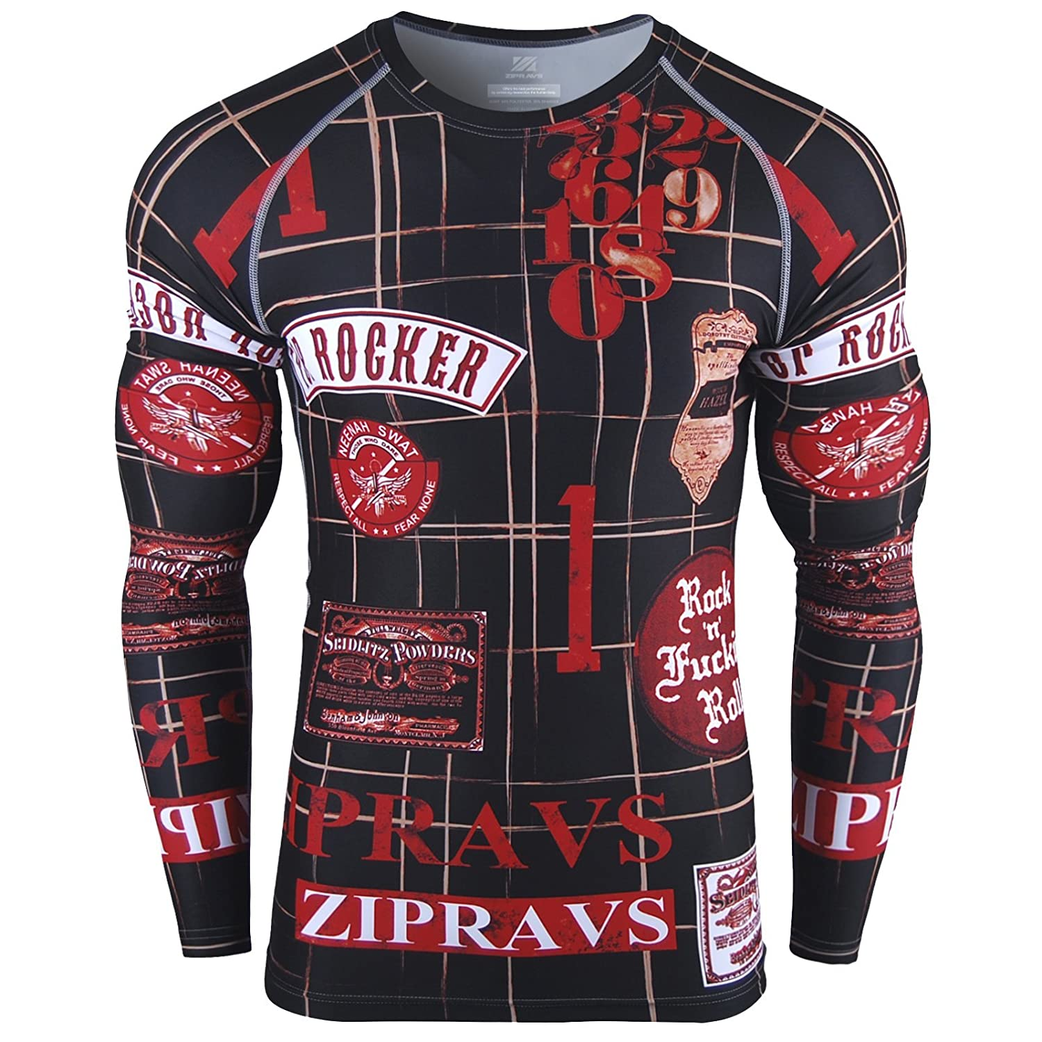 Image of Zipravs Rash Guard ROCKER