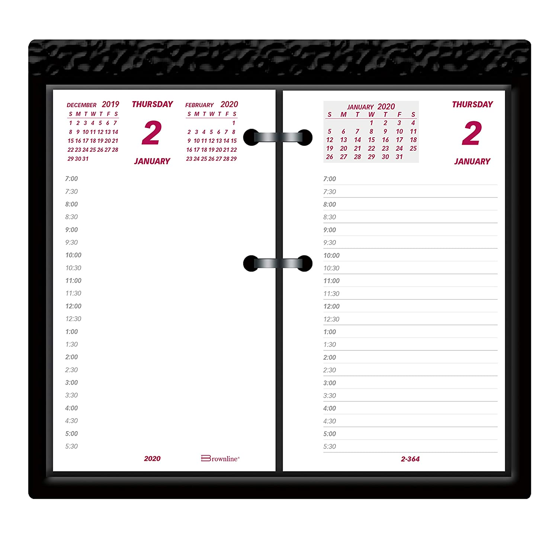 "Brownline 2020 Desk Calendar""Jumbo"", Refill, 6 x 3.5 inches (C2R-20)"