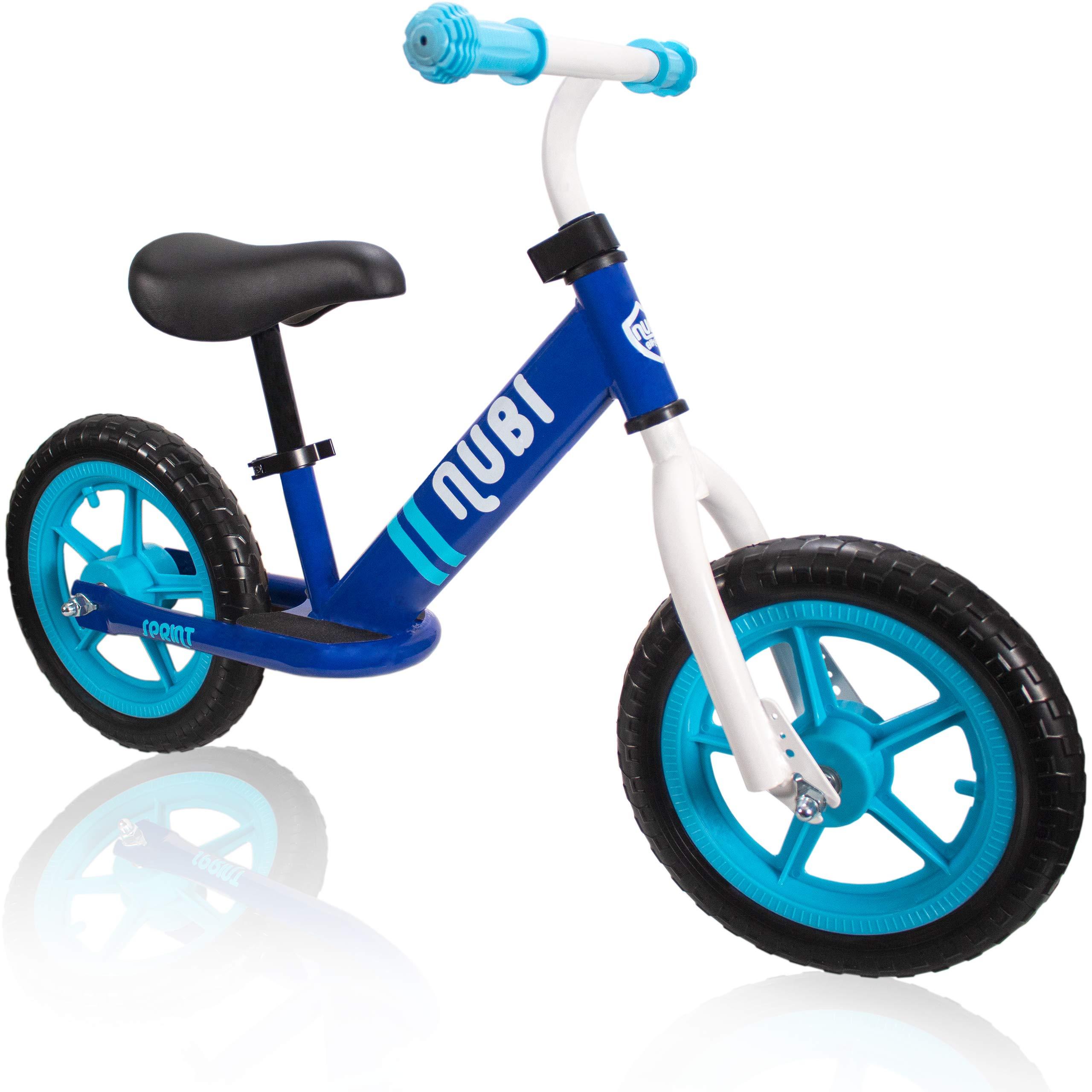 Nubi Sprint 12'' Blue Kids Balance Bike