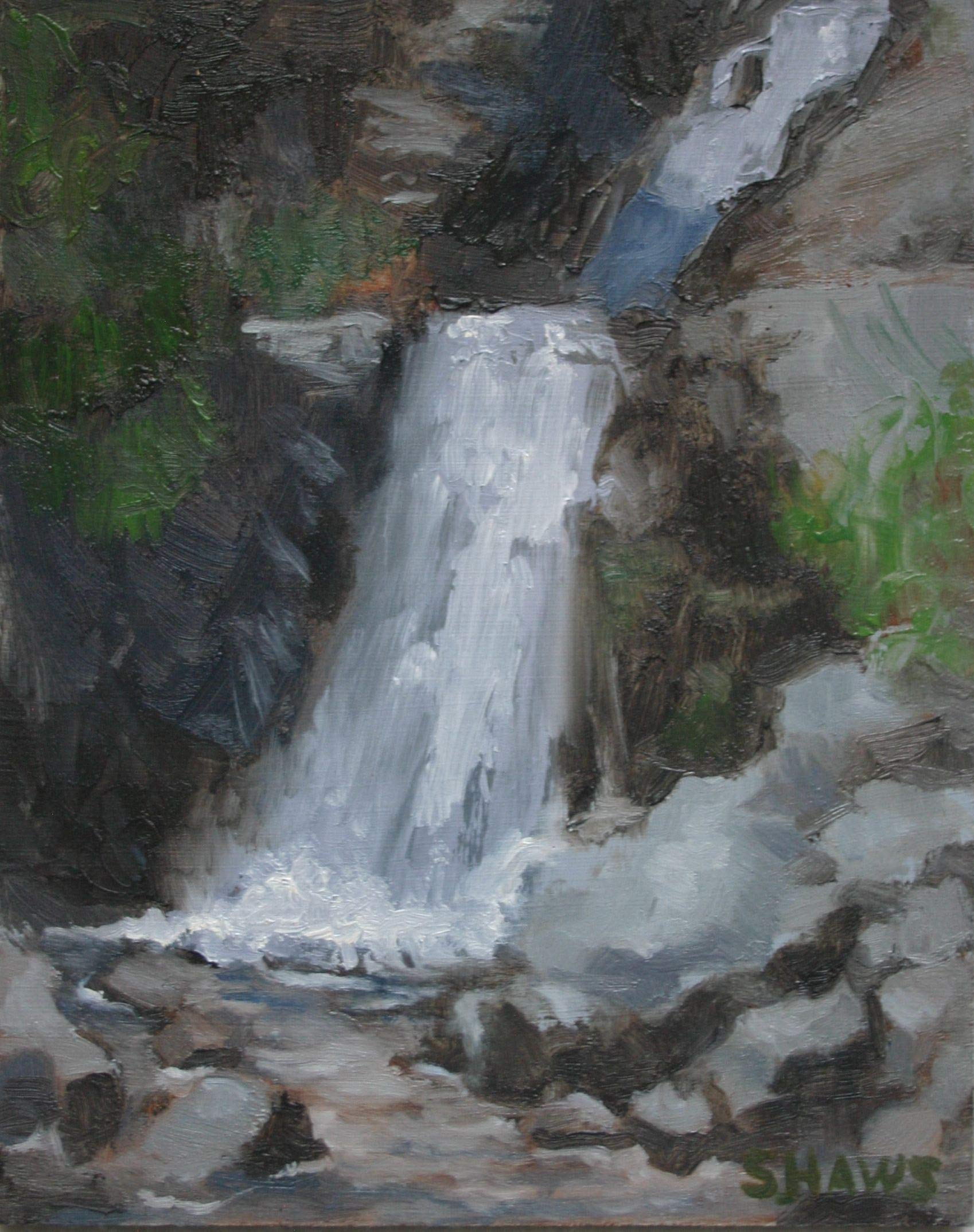 Waterfall by