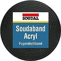 10m comprimeerband acryl 300 15/3, bandbreedte 15 mm, verlengd van 3 tot 15 mm, antraciet, voegenafdichtband compriband…