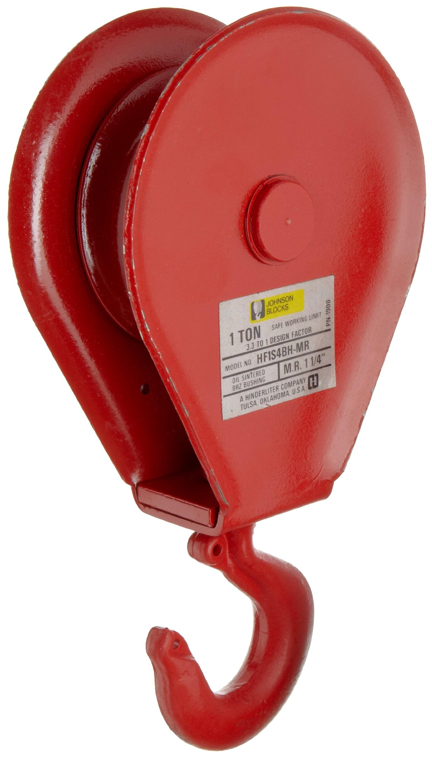 Gunnebo Johnson HF1S4BH-MR Hay Fork Pulley with
