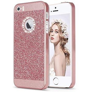 fe8acbf77b Amazon   iPhone SE 5 5s ケース, Imikoko iPhone5s/5 /SE ケース ...