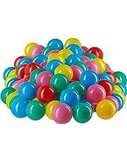 Relaxdays- Bolas Piscina Infantil de Colores,, Pack of 200 (10022476_777)