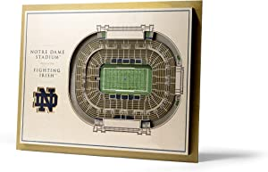 YouTheFan NCAA 5-Layer 17 x 13 StadiumViews 3D Wall Art