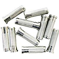 Allen Insertos de Aluminio para Flechas de Carbono, Compatible con Flechas OD de 9/32 Pulgadas, 10 Frijoles (Paquete de 12)