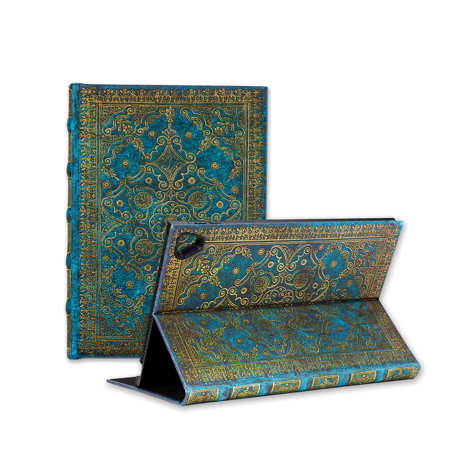 Paperblanks eXchange case for Apple iPad Pro 9.7 / iPad Air 2, Infinite Viewing Angle Case – Azure Design