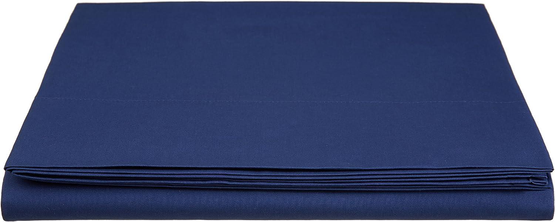 180 x 290 cm Anthrazit Basics Everyday Bettlaken aus 100/% Baumwolle