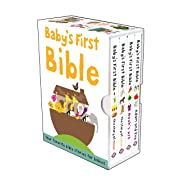 Baby's First Bible Boxed Set: The Story of Jesus, Noah's Ark, The Story of Moses, Adam and Eve (Bible Stories)