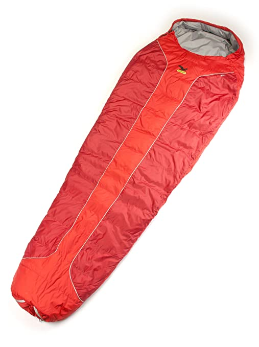 SALEWA Dream Light 600 Sb Saco De Dormir -7° Rojo Derecha