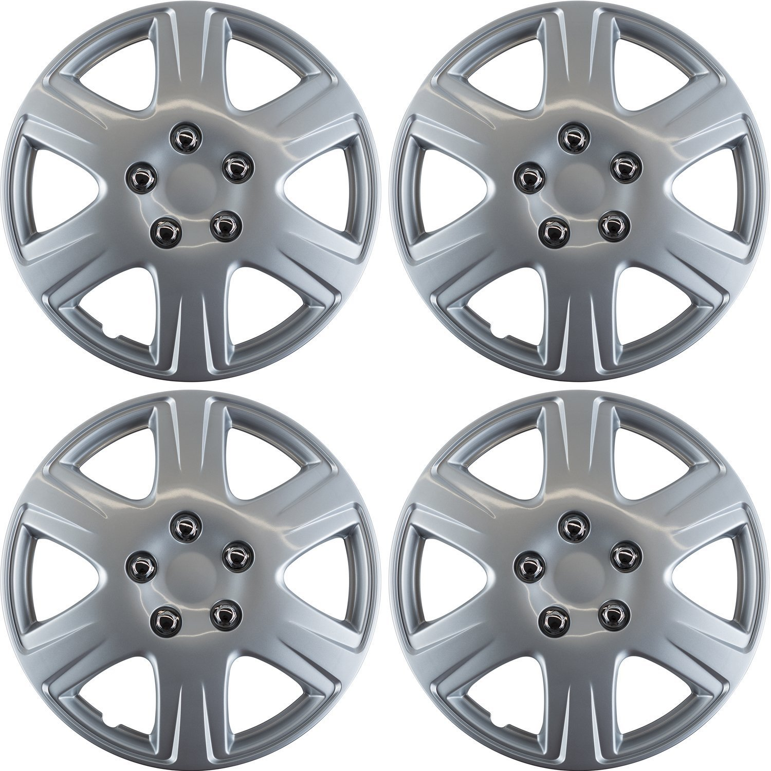 OxGord Snap-On Hubcaps