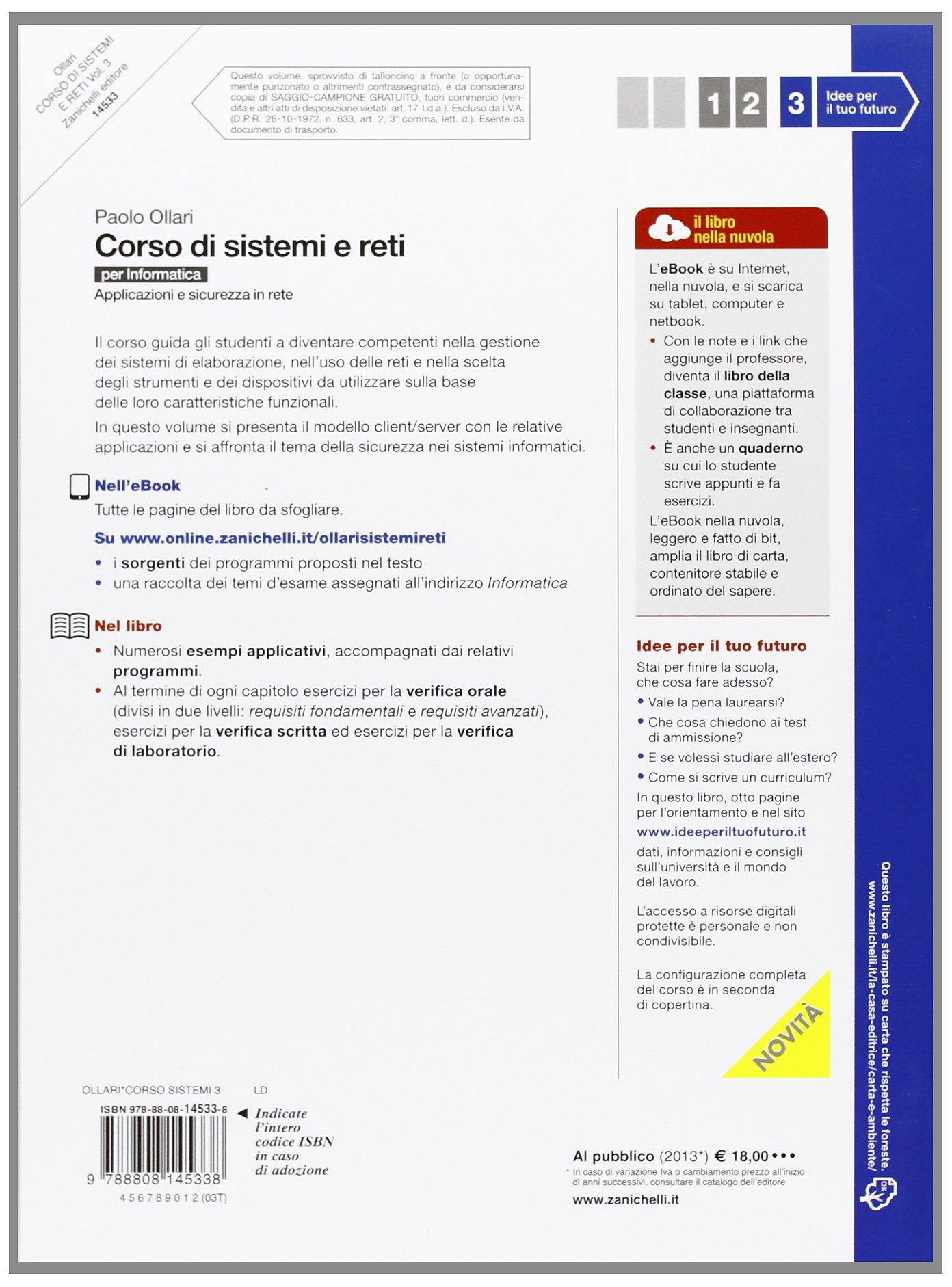 Corso Di Sistemi E Reti Per Informatica Per Le Scuole Superiori