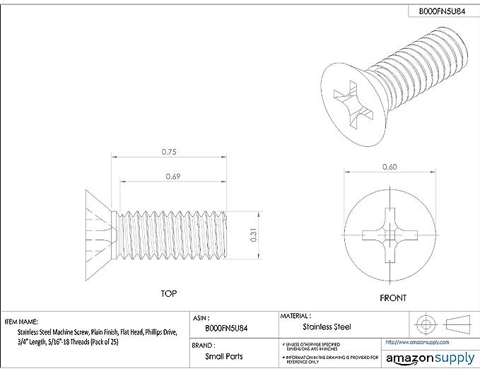 25MM Shoulder Lg. M4 X 0.70 Thread 8MM Head Dia. UNICORP MSCB315-29 Mod Hex Socket Shoulder Screw- 5MM Shoulder Dia. 303 Stainless QTY-10 4MM Head Ht.