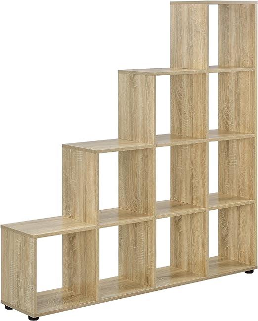 en.casa]®] Estantería en Forma de Escalera estilosa - Estantería ...
