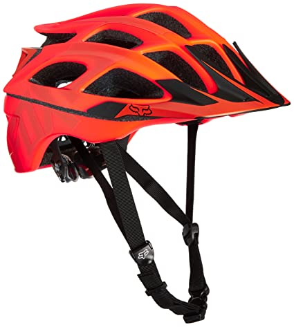 Fox Racing Striker Vandal Adult Off-Road Cycling Helmet - Orange / Small/Medium