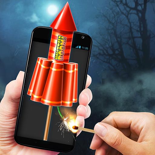 Fireworks Halloween Simulator (No Ad)