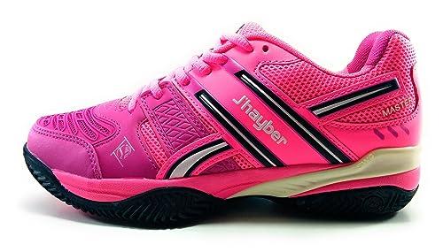 JŽHayber Temax Zapatilla de Padel para Mujer: Amazon.es: Zapatos y complementos