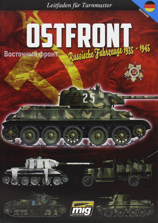 Mehrfarbig Camouflage Guide Deutsch 1945 Russischen Fahrzeuge 1935 AMMO Munition mig-6009/Eastern vor
