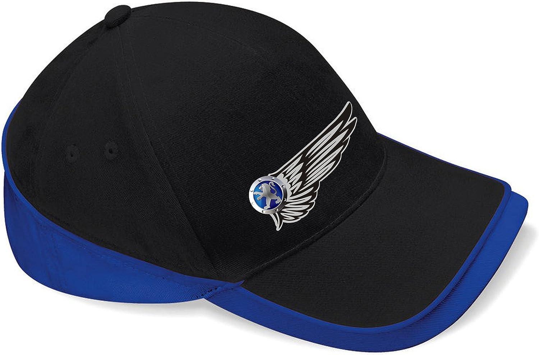 mmshop18 Peugeot Noir Unisex Casquette de Baseball c110 Wings Logo Car