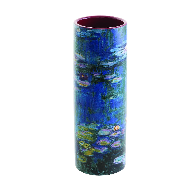 18cm Ceramic Vase - Claude Monet - Les Nympheas (Water Lilies) Dartington Crystal Ltd VAS05MO